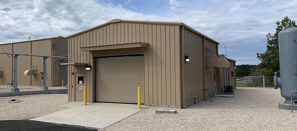 Pineland Compressor & Auxiliary Buildings
